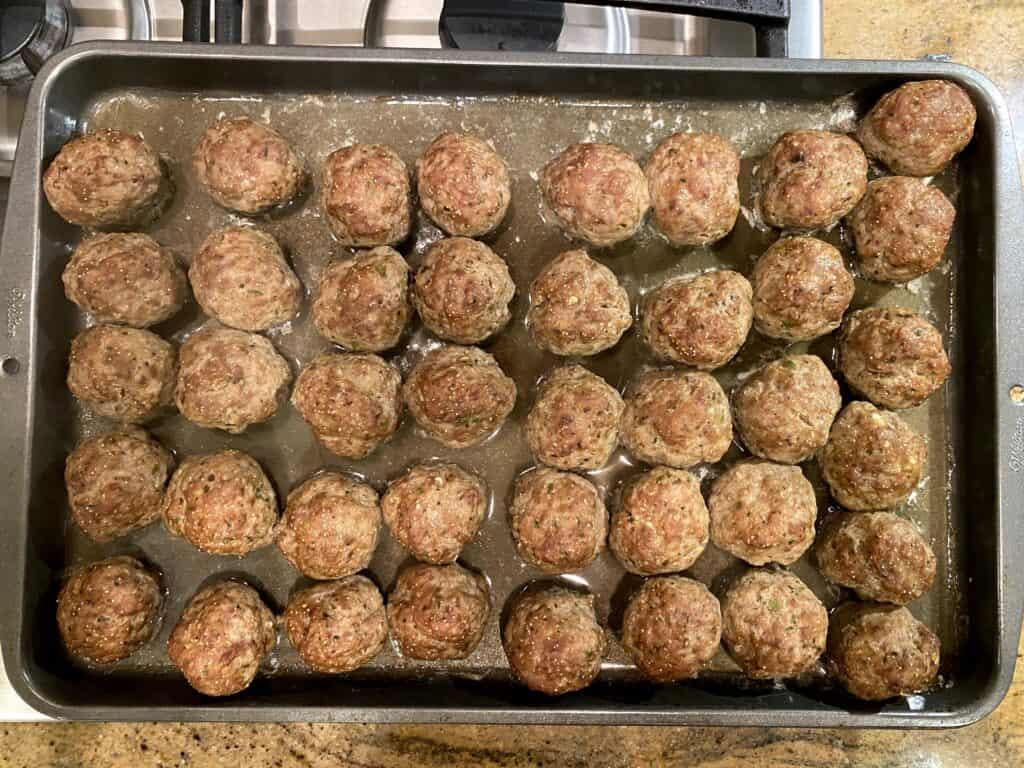 baked and broiled koftas