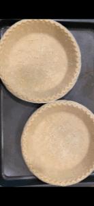 blind bake pie shells
