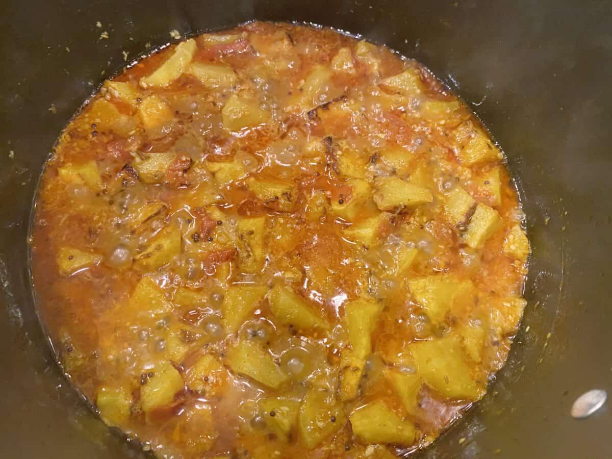 Acorn Squash Curry