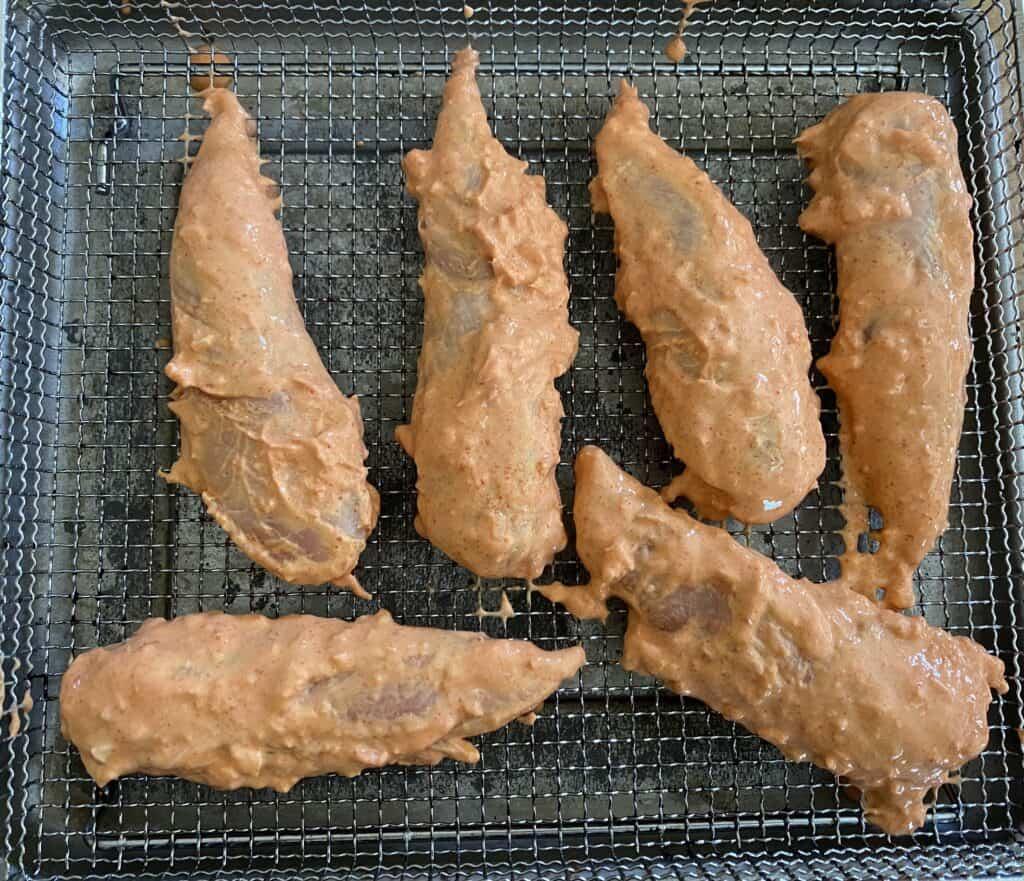 air fry chicken tikka