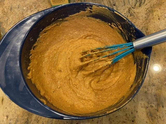 mix the spices in the yogurt