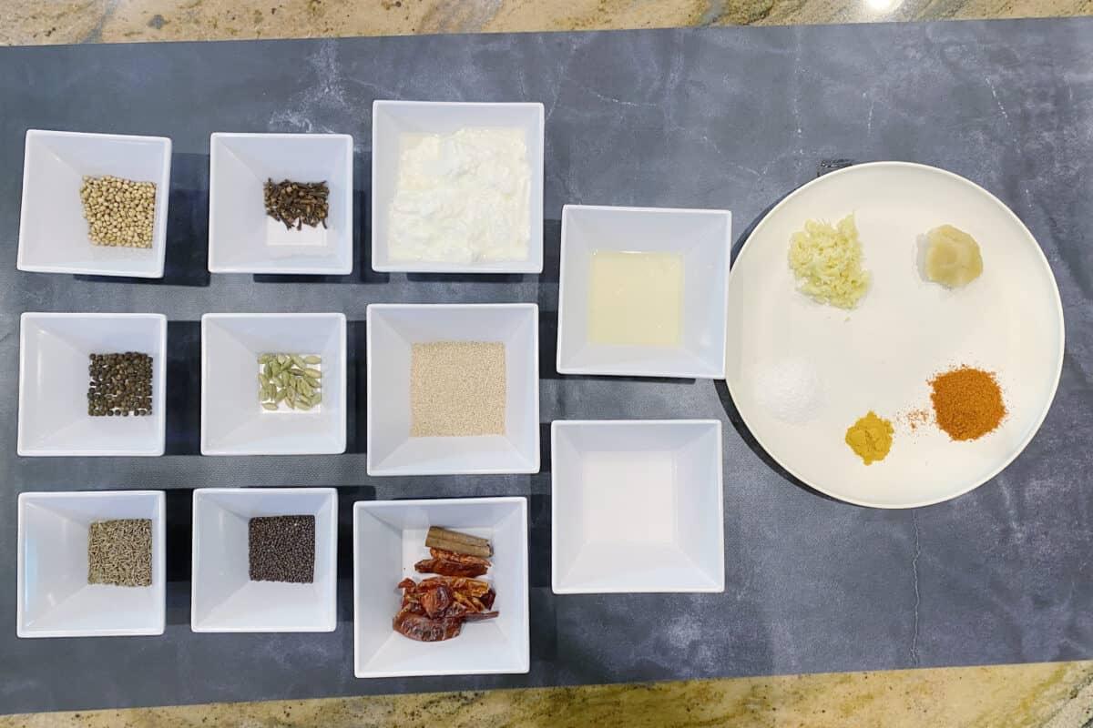 Beef Pasanday ingredients
