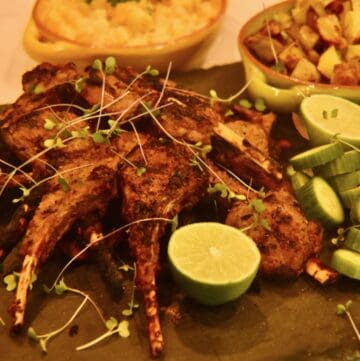 grilled tandoori lamb chops