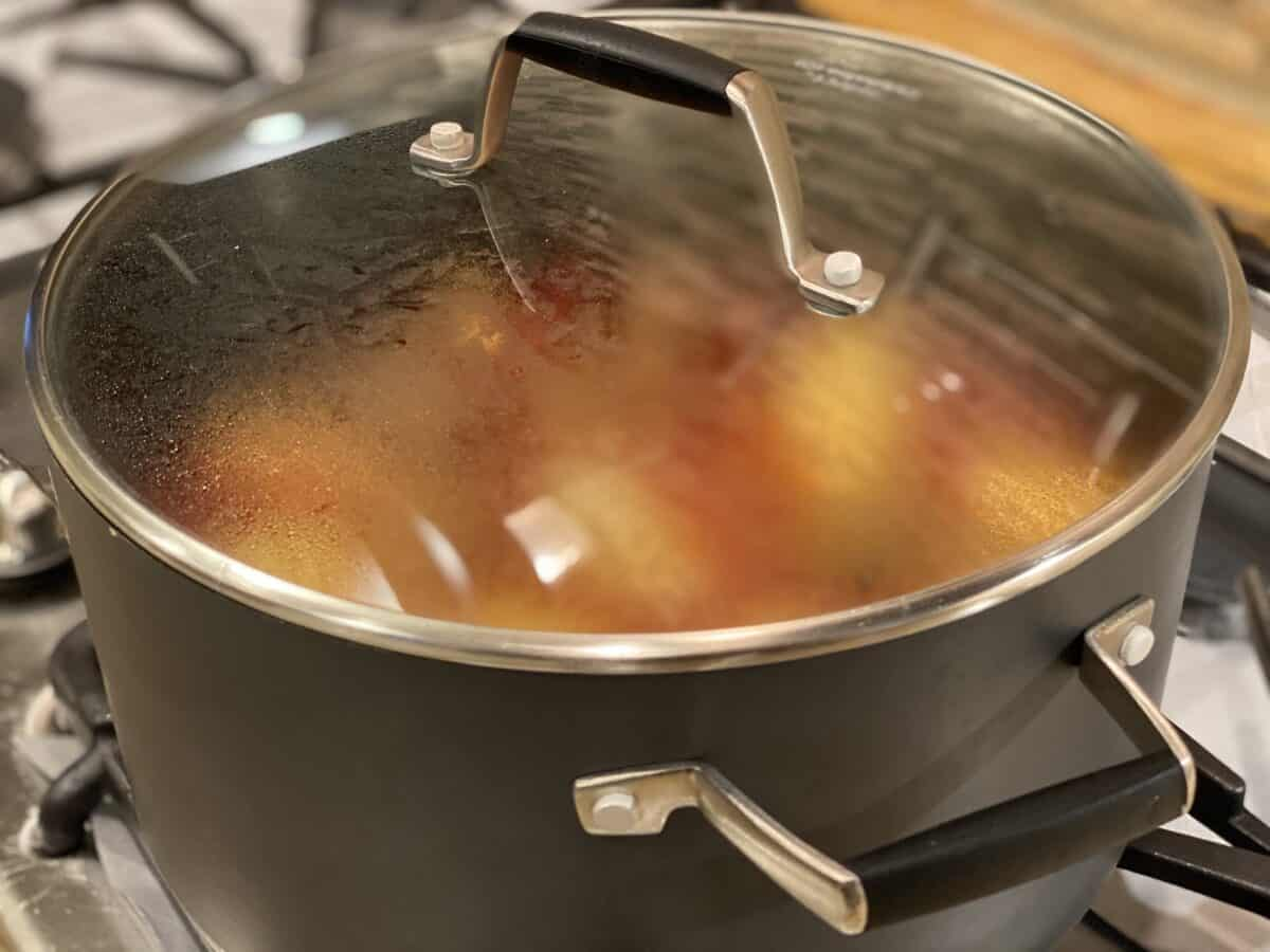 steam to cook potatoes